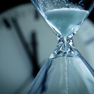 jubilación parcial, Hourglass Sands of Time Deadline