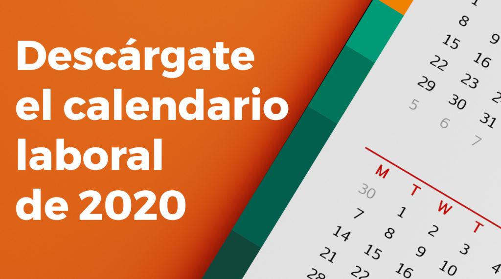 calendario laboral españa 2020 en formato pdf